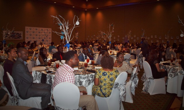 Over 150 people attended this year's gala at the Embassy Suites Resort & Spa in Concord, N.C.