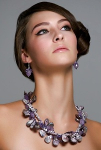 Beverly Grant Turner - jewelry - shades of amethyst