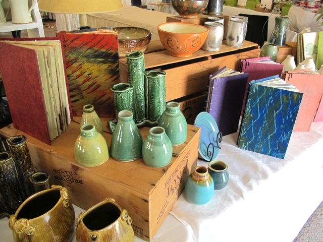 Courtesy of CAC Artist Rosemary Peduzzi, former CAC President's booth at last year's show.
