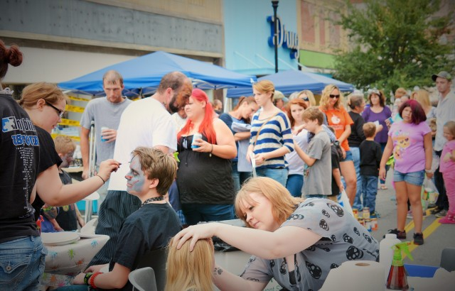 Courtesy of Downtown Gastonia Zombie Walk 1000 participants came to last year's event. Robb expect 1,300 this year.